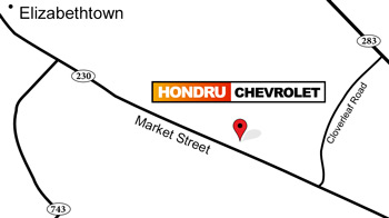 Hondru Elizabethtown Chevy Location