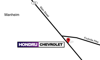 Hondru Chevy Manheim map