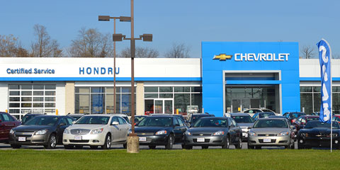Chevrolet of Elizabethtown location